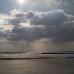 Wolken im Sonnenlicht