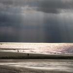 Sonnenstrahlen über der Nordsee