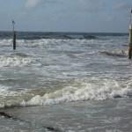 Pfeiler am Strand von Norderney
